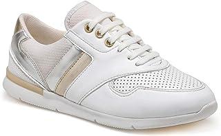 CS20004 Beyaz Kadın Basic Casual Ayakkabı
