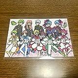 美男高校地球防衛部 LOVE!LOVE!LOVE! グラフアート 店舗購入特典ポストカード