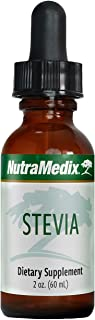 Sponsored Ad - NutraMedix Stevia - Bioavailable Whole-Leaf Liquid Stevia Extract Drops for Microbial Support - Natural Sug...