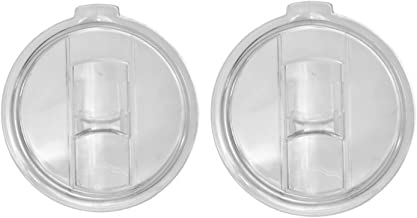 NYKKOLA 2 Replacement Lids for 30oz Stainless Steel Tumbler Travel Cup - Fits Yeti Rambler RTIC and others