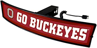 ohio state trailer hitch cover light up