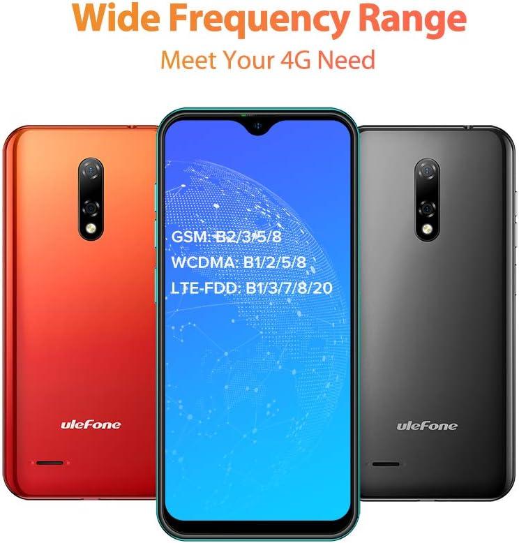 Dual SIM -Verde 2GB RAM 16GB ROM 128 GB SD Moviles Libres Baratos 4G C/ámara 8MP+2MP+5MP Ranura para tarjetas 3 en 1 Pantalla 5.5 HD+ Tel/éfono M/óvil Ulefone Note 8P Android 10 Smartphone Libre