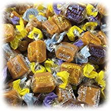 AvenueSweets - Handcrafted Dairy Free Vegan Individually Wrapped Soft Caramels - 1 lb Box - Assorted Flavors