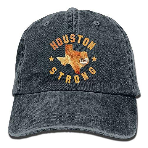 Vidmkeo USA Houston Strong Hurricane Harvey Low Profile Washed Dyed Hats Baseball Caps Einstellbar Multicolor19