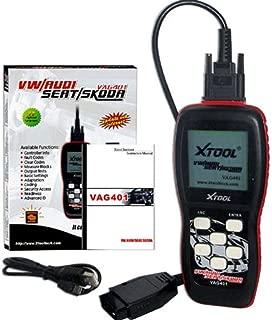 XTOOL Vag401 Code Reader for Vw Audi Seat Skoda Diagnostic Scan Tool