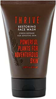 Sponsored Ad - THRIVE All Natural Face Wash for Sensitive Skin – Unscented Gentle Face Wash for Women & Men to Clean, Rest...