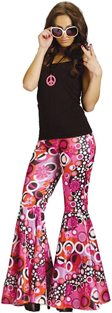 Fun World Psychedelic Bell Bottoms: Clothing