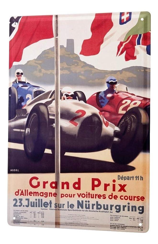 抜本的な元の拒否Tin SignガレージGrand Prix Nurburgring