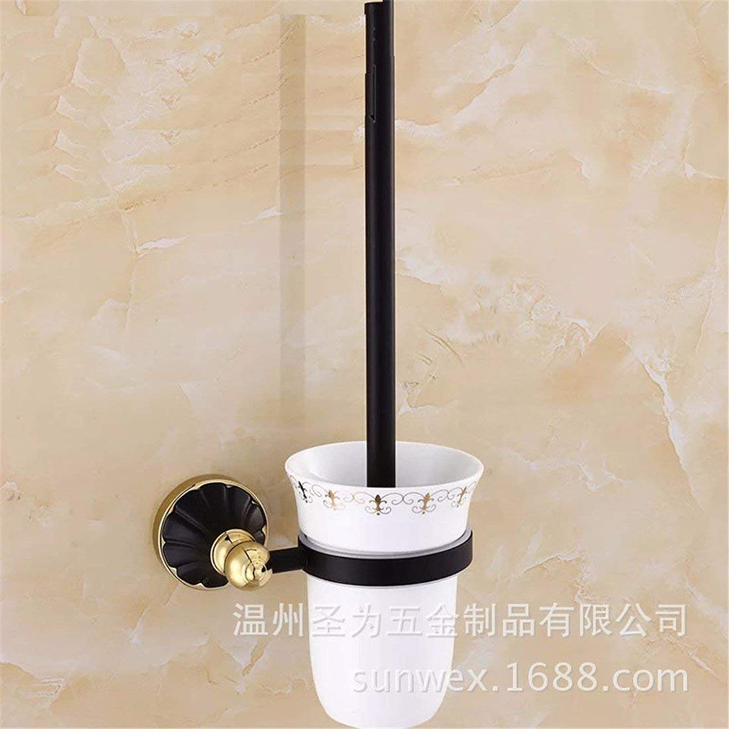 European Style Black gold of Base Petals Accessories Set of Price of The Ring of Dry-Towels,Toilet Brush