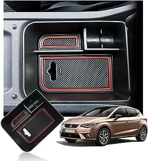 Storage Box Innen Mittelkonsole Aufbewahrungsbox F/ür Seat Leon Cupra 5F FR MK3 Mittelarmlehne Armlehne Organizer