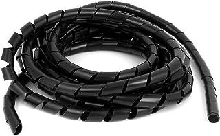 Flexible-Kabelspirale Spiralschlauch Bündelbereich Ø15-100mm Länge10 m FARBLOS