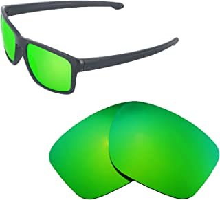 Walleva Replacement Lenses for Oakley Sliver Sunglasses - Multiple Options Available