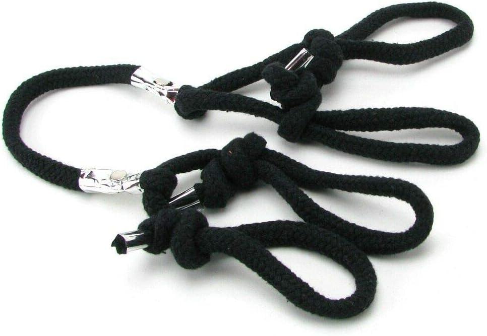 Max 58% OFF Silk Black Wristrope Fun San Jose Mall Cuffs ḄọndẠRestraḭnt
