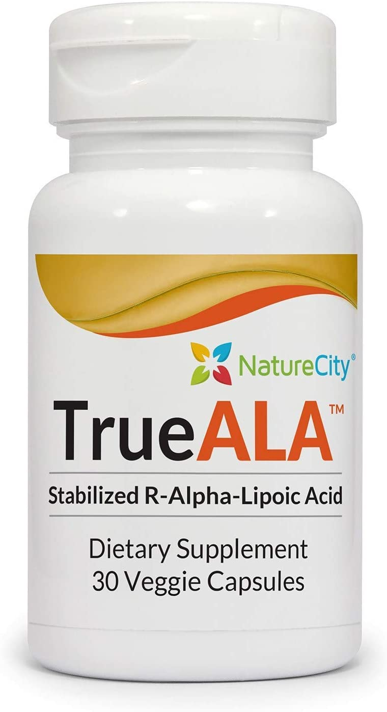 NatureCity Max 47% OFF True-ALA Stabilized R-Alpha Supplement 3 Max 50% OFF Lipoic Acid