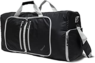 Duffle Bag, Ryaco Gym Bag 82L Sports/Travel Foldable Bag Waterproof Lightweight with Wet Pocket & Shoes Compartment for Men/Women