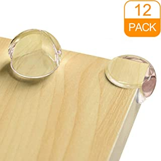 CalMyotis Corner Guards, Corner Protectors for Kids, Child Safety Guards, Protectors for Furniture Against Sharp Corners, With Strong Adhesive Tape (12 Pack)