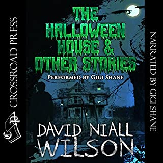 The Halloween House & Other Scary Stories audiobook cover art