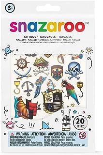 Snazaroo Adventure Temporary Tattoos - Set of 20