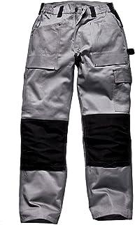 fa228634304 Amazon.es: Gris - Pantalones / Ropa de trabajo y de seguridad: Ropa