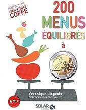 Livres 200 menus équilibrés à moins de 2 euros PDF