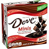DOVE Miniatures 14-Count Dark Chocolate Variety Pack (4 Count)