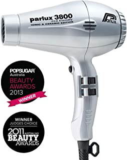 Parlux 3800 Ceramic & Ionic Dryer 2100W, Silver
