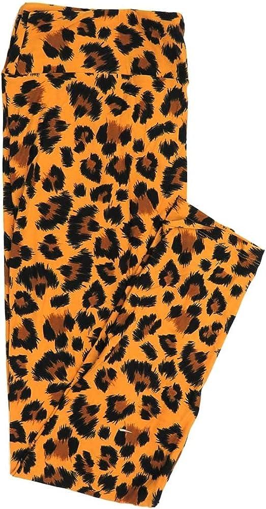 2021new shipping free Lularoe New mail order Tall Curvy TC Cheetah Print L Buttery Animal Soft Womens