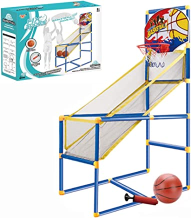 Basketball Circle Arcade Game 15.74x31.5x47.63in | Toddler Toys Outdoor | Indoor Basketball Boy Birthday Gift for 5-10 Years Old Kid- Ship From US!!