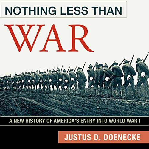 Nothing Less Than War audiobook cover art