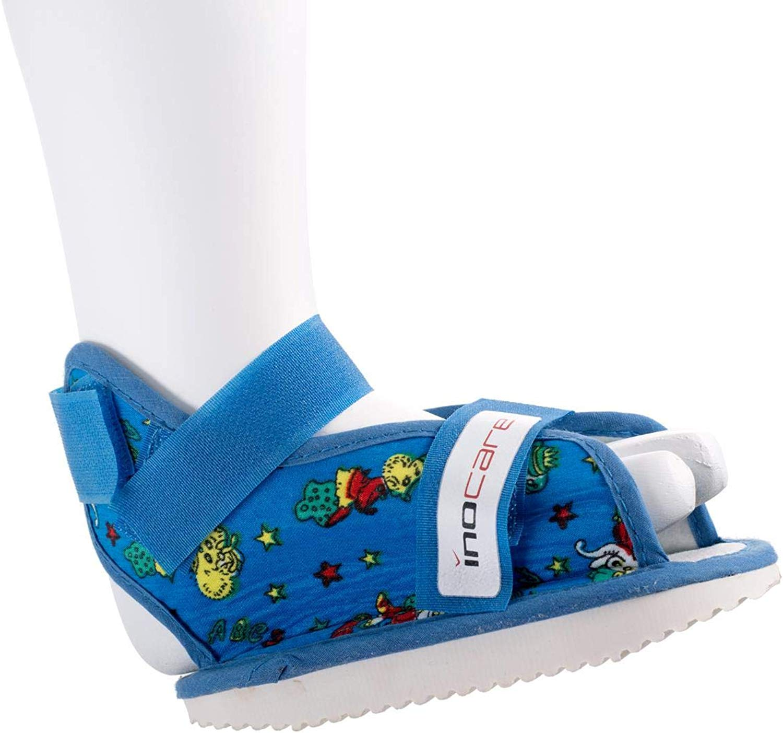 Inocare 582-5-112 Universal-Kinderschuh (Sandale), XXS, blau