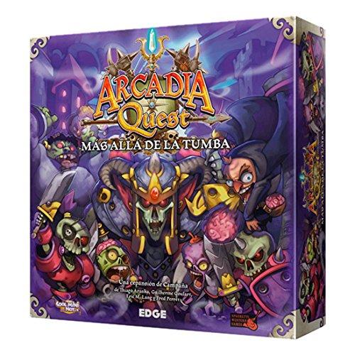 Arcadia Quest–Jenseits der Grab, Brettspiel (Edge Entertainment AQ02)