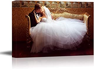 NWT Custom Canvas Prints with Your Photos for Wedding, Personalized Canvas Pictures for Wall to Print Framed 24x36 inches