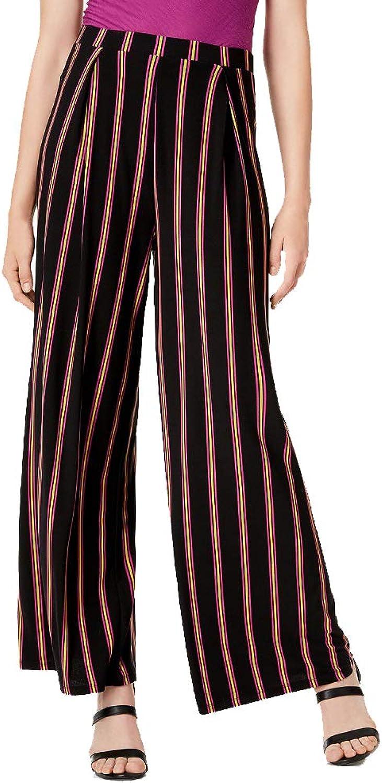 Bar III Striped WideLeg PullOn Pants