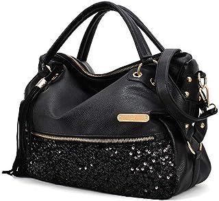 Segater® Handtaschen für Damen, Mehrfarbige Hobos der Frauen Schultertasche Leopardenmuster Tote Umhängetasche