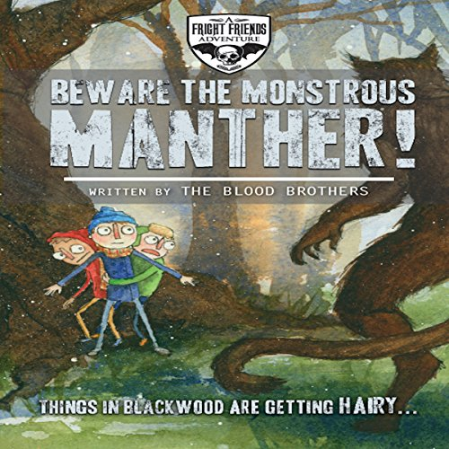 Beware the Monstrous Manther! audiobook cover art