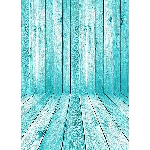 Fondo de fotografía de Textura de Tablero de Madera tablones de Madera Piso Baby Shower Photo Backdrops Studio Props A20 10x10ft / 3x3m