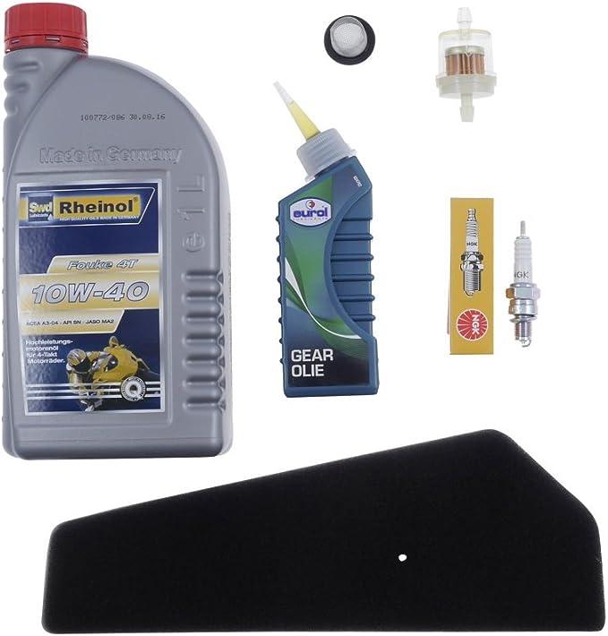 2extreme Inspektionsset Kompatibel Für Kymco Super 8 50 4 Takt Typ Ck50qt 6 Auto