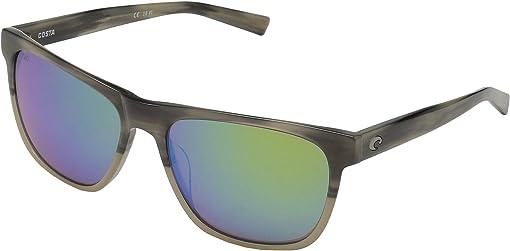Green Mirror 580G/Shiny Sand Dollar Frame