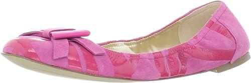 Rockport Femme Daya Imprimé Ballet Flats - MultiCouleure - Magenta, 41 EU M