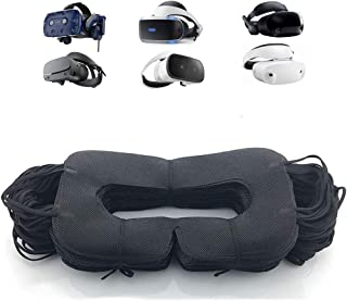 VR Mask 50pcs Disposable Face Cover Mask, Sanitary Mask Prevent Eye Infections