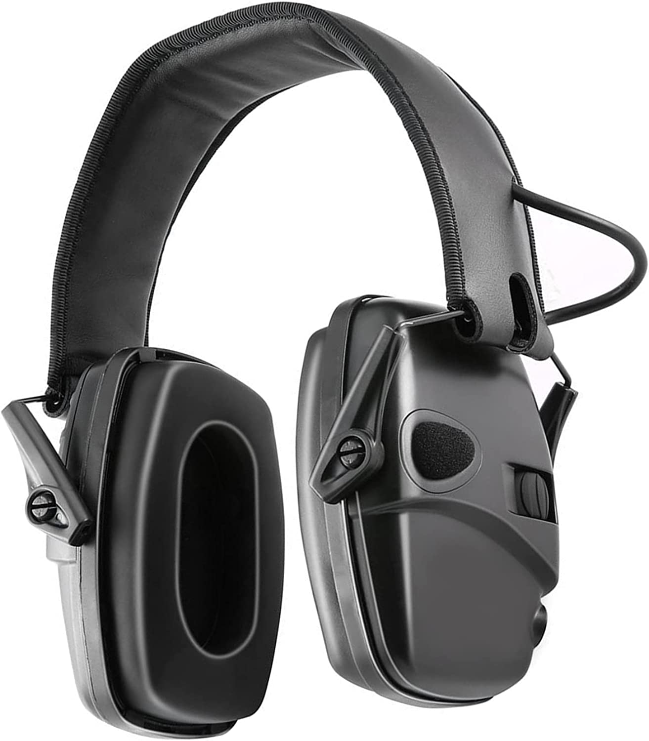 Rehomy Foldable Hearing Protection Headphones Electronic Shooting Earmuffs Ear Protecting for Outdoor Hunting Shooting