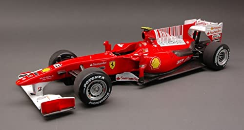Hot Wheels HWT6257 Ferrari F.Alonso 2010 N.8 Winner Bahrain GP 1 18 DIE CAST kompatibel mit