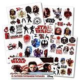 Star Wars the Last Jedi Tattoos - 75 Assorted Temporary Tattoos - Star Wars 8