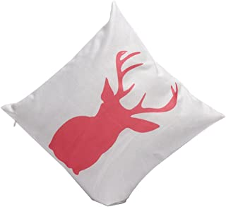 ALB Christmas Pillow Case Sofa Waist Throw Cushion Cover Home Decor E
