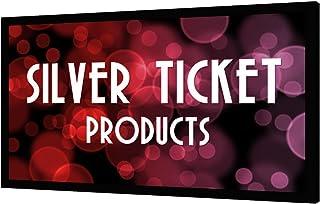 "STR-169120-R Silver Ticket 4K Ultra HD Ready Cinema Format (6 Piece Fixed Frame) Projector Screen (16:9, 120"", Rear Projection Material)"