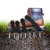 TACKLIFE Lawn Aerator Shoes, Updated Stiffened Sole Design,4 Aluminum Alloy...