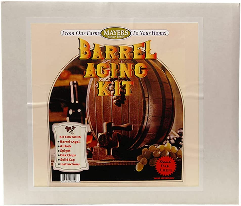 Mayer Farms' Barrel Aging Kit Wines Homemade Includes trend rank for 1.5 40% OFF Cheap Sale
