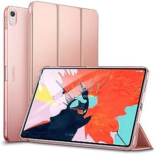 جراب Apple iPad Pro 11 2018 ESR Yippee Color Series PU من الجلد النحيف خفيف الوزن ثلاثي الطي - وردي ذهبي