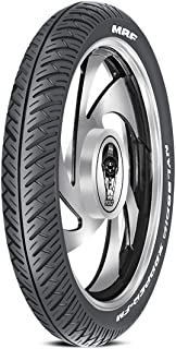 MRF Nylogrip Zapper-FM 90/90 -19 52P Tube-Type Bike Tyre, Front