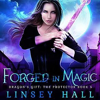 Page de couverture de Forged in Magic